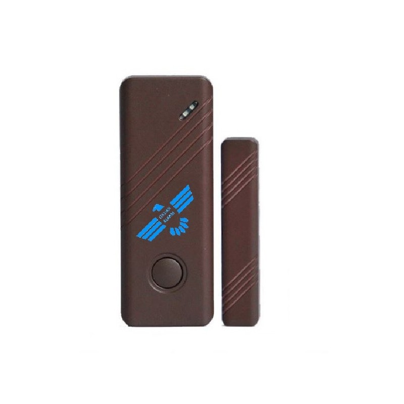Sensore magnatico porta/finestra colore marrone
